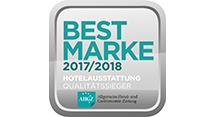 Best Marke 2017/18 Hotelausstattung