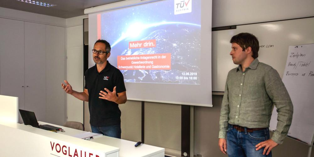 Gewerberecht Schulung TÜV Austria