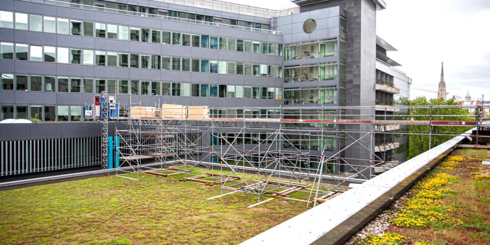 Baustelle Hilton Vienna am Stadtpark