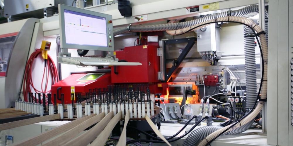 Produktion Laser-Technologie