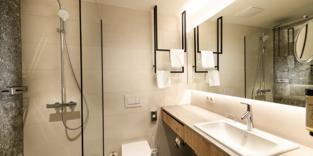 Tauernhof Badezimmer