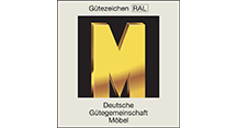"""RAL """"Golden M"""" Quality Seal"""
